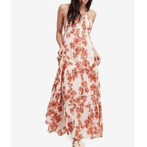 Free people garden party maxi floral dress